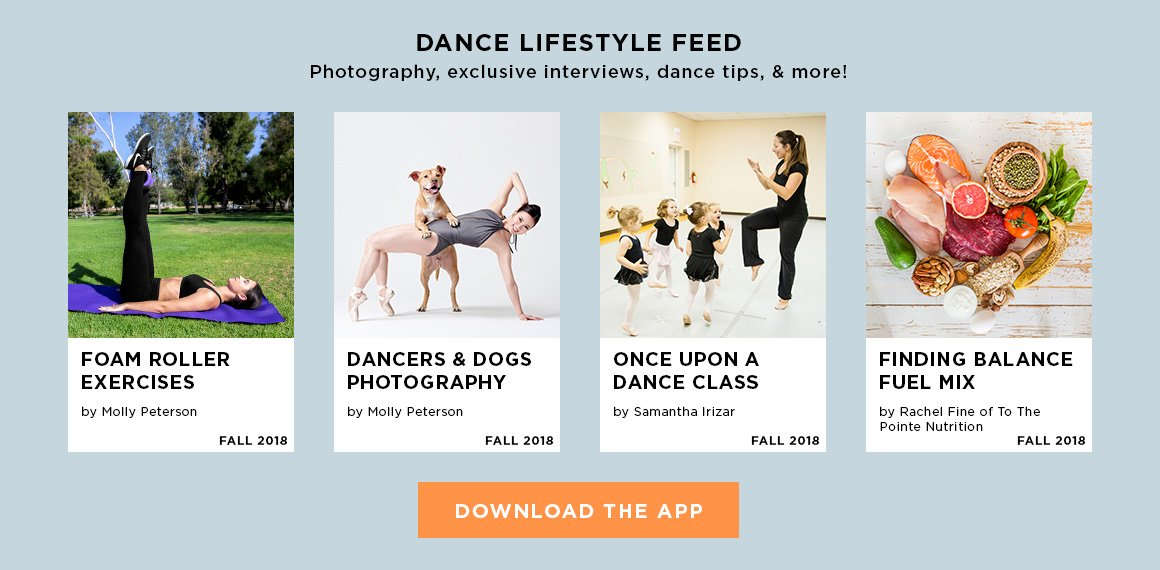 ad for the DDS Dance Lifestyle app