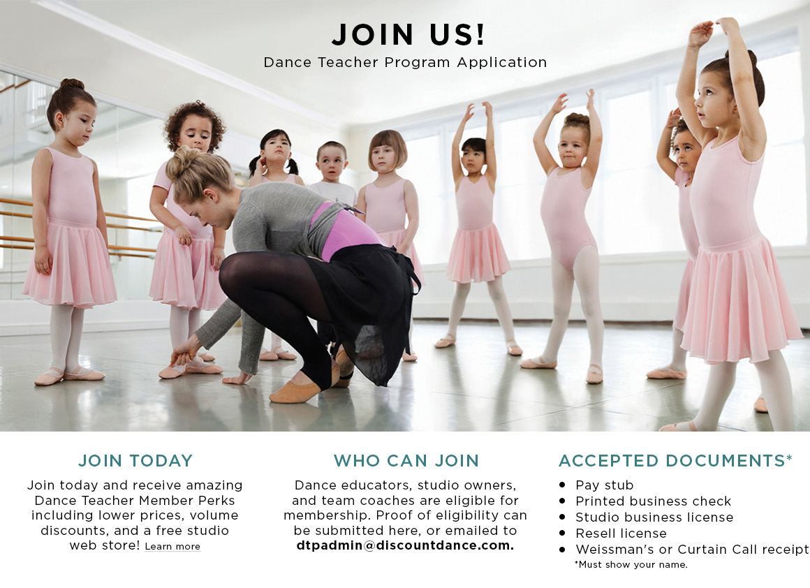 information about the Dance Teacher Program.